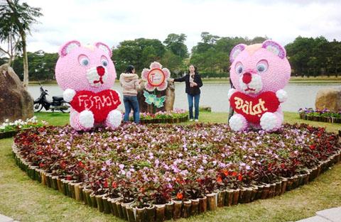 Dự kiến có đến 500 ngàn lượt khách đến với Đà Lạt mùa lễ hội Hoa 2015.