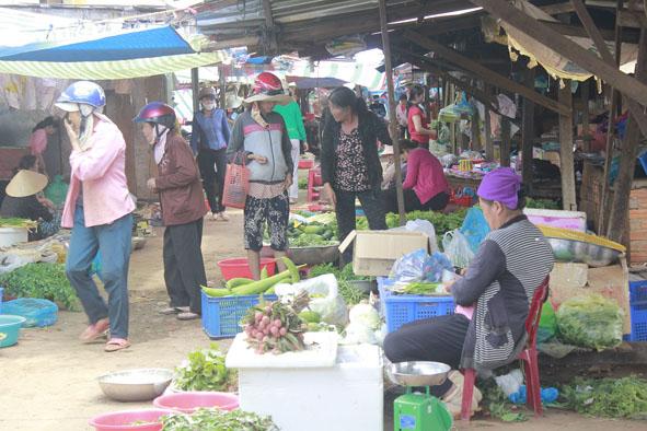 Hiệu quả từ xã hội hóa xây dựng chợ nông thôn